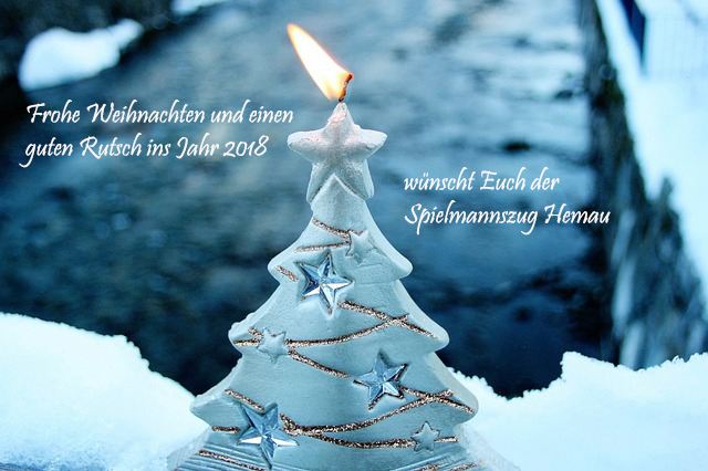 Bilder Weihnachten Und Neues Jahr.Frohe Weihnachten Und Ein Gutes Neues Jahr 2018 Spielmanns Und